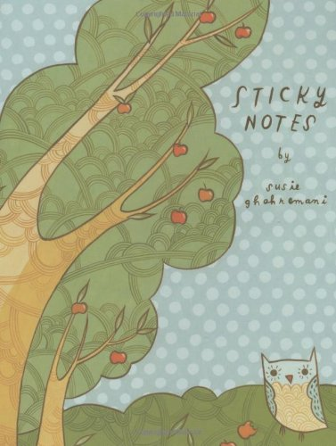 Orchard Owls Sticky Notes - 1