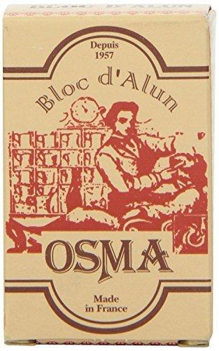 Osma Bloc - Alum Block 75g (Soothes Shaving Irritation) by Osma Laboratoires