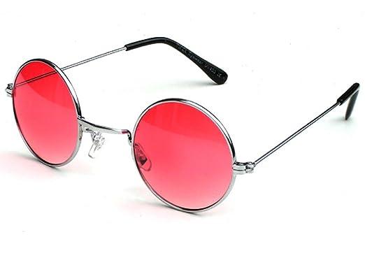Tedd Haze 60's John Lennon Brille schwarz mit Brillen Beutel A9U4i8g