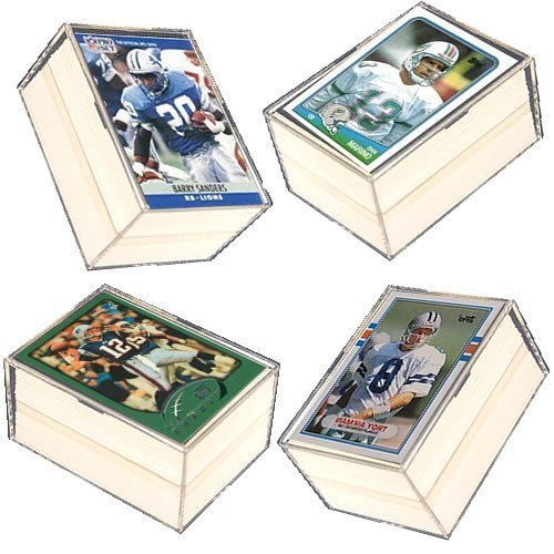 400 Card NFL Football Gift Set - w/ Superstars, Hall of Fame Players (Sanders Fame Barry Hall Of)