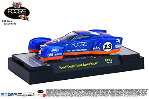 M2 Machines Chip Foose 1:64 Release 3 FOOSE COUPE - Land Speed Racer