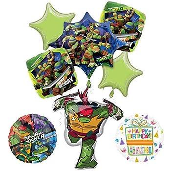 Amazon.com: Teenage Mutant Ninja Turtles Party Supplies TMNT ...