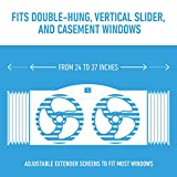 Bionaire BW2300-N Twin Reversible Airflow Window