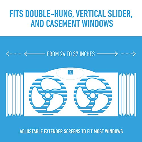 Bionaire BW2300-N Twin Airflow Window Remote Control