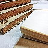 Japanese Wood Sheet Pads by KIZARA (184x126)