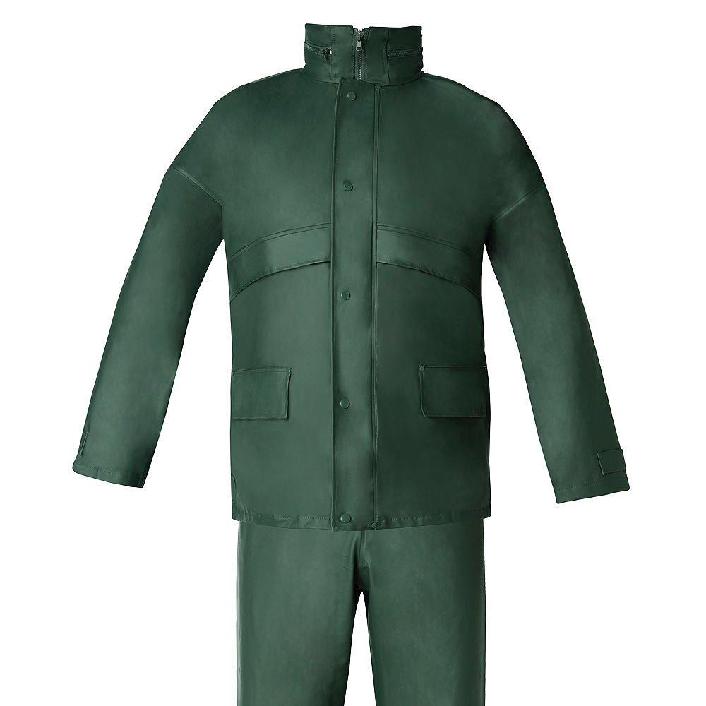 Wolfpack 15010037 Traje de Agua Impermeable Verde Poliuretano Talla 7-L A Forged Tool SA