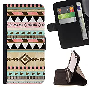 Jordan Colourful Shop - Native American Winter Christmas Pattern For Apple Iphone 4 / 4S - Leather Case Absorci???¡¯???€????€???????&