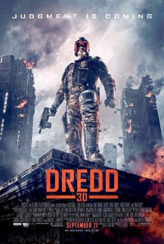 Cartel de cine de la película Dredd 3D, 61 x 91 cm: Amazon ...