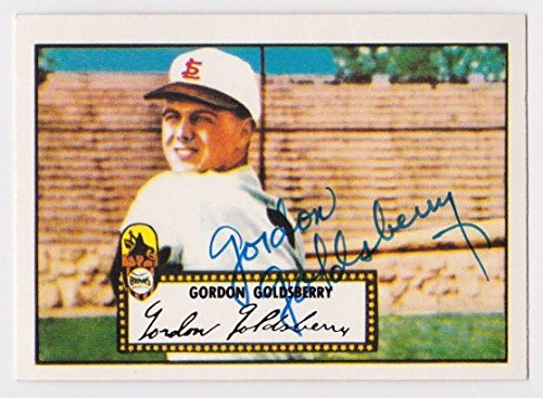 1983 Topps 1952 Reprint Gordon Goldsberry Auto Autograph Card #46 D.1996 - JSA Certified - Baseball Slabbed Autographed Cards