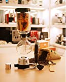 Vintage Japanese Style 3 cups Siphon glass vacuum brew espresso machine coffee maker pot stove top