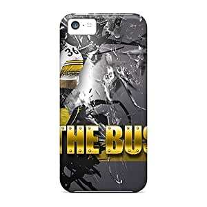 Por XaY5086Dpma Pittsburgh Steelers funda piel/iPhone 5c funda