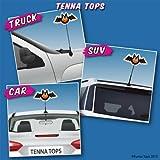 Tenna Tops® Spooky Bat Car Antenna Topper / Antenna Ball / Mirror Dangler
