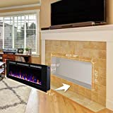 Valuxhome Electric Fireplace, 50 Inches