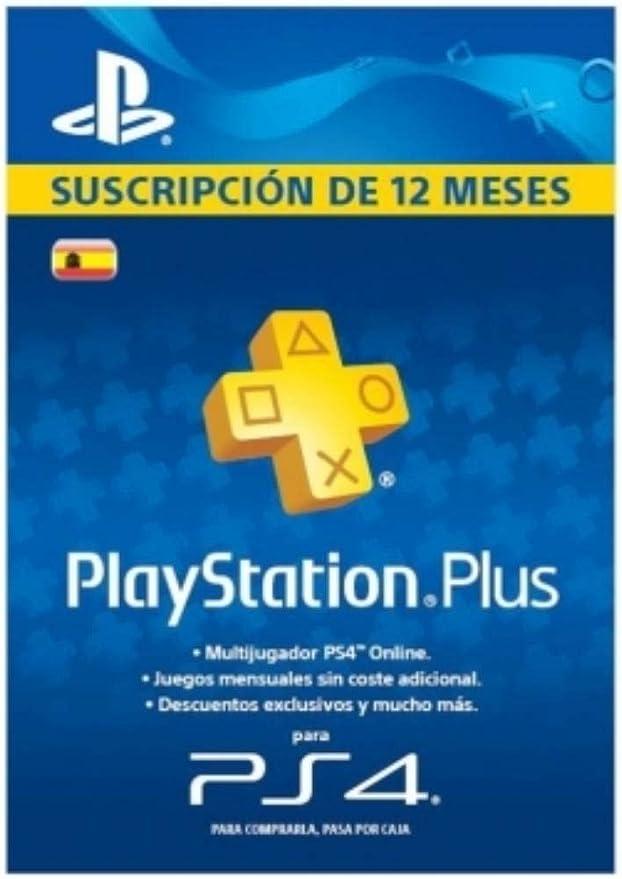 Amazon.es: TARJETA Suscripcion PSN Plus 365 dias, 12 Meses Playstation