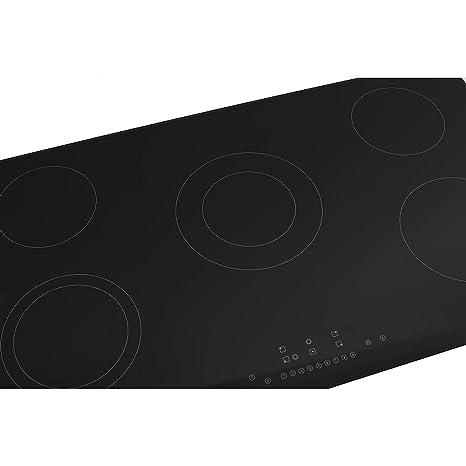 Placa de cocina vitrocerámica, Eléctrica Encimera ...