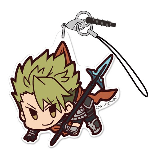 Fate Apocrypha Rider of Red Achilles Character Tsumamare Pinch Acrylic Phone Strap Mascot Collection Anime