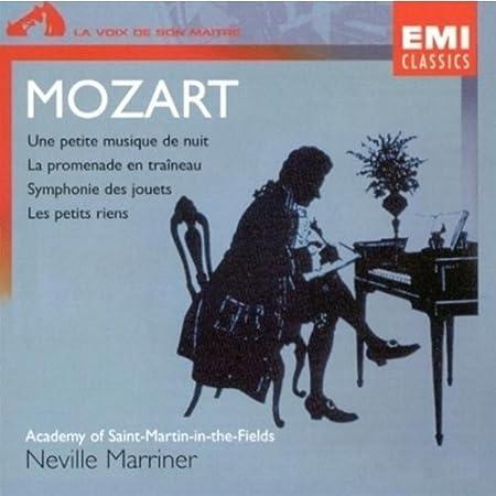 Mozart - Les petits riens, Eine kleine Nachtmusik, L. Mozart Toy Symphony - Marriner - Academy of St. Martin-in-the-Fields (2008-01-13)