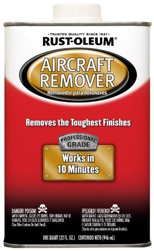 Rust-Oleum Automotive 255448 32-Ounce AircrAft Remover Quart by Rust-Oleum (Aircraft Remover Rustoleum)