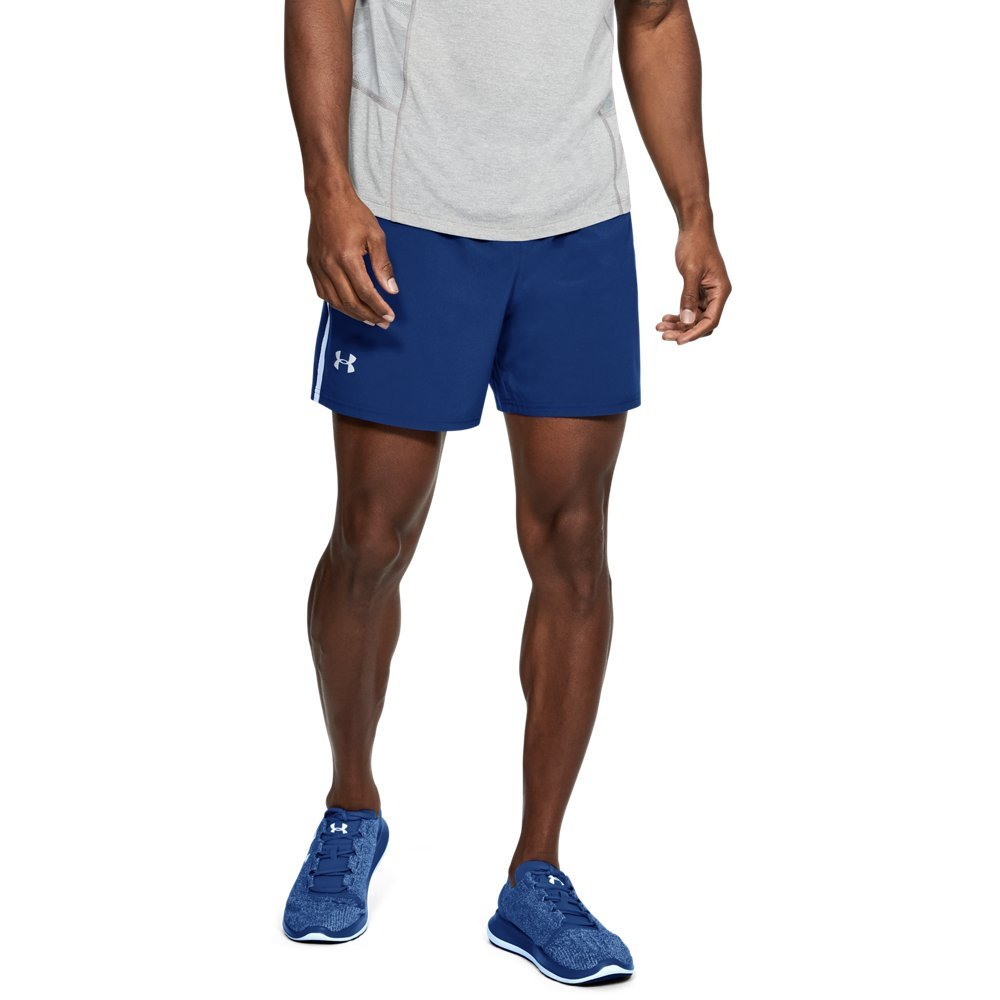 Under Armour Men's Launch Sw 5'' Shorts, Formation Blue /Reflective, Medium by Under Armour (Image #1)