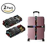 SWEET TANG Design Luggage Strap Adjustable Lock I Love My Dog
