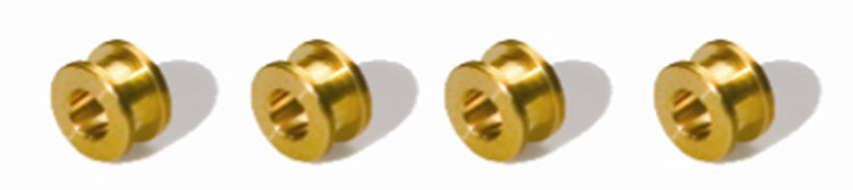 Scalextric - SCA8407 - Véhicule Miniature - Pack de 4 Paliers en Laiton