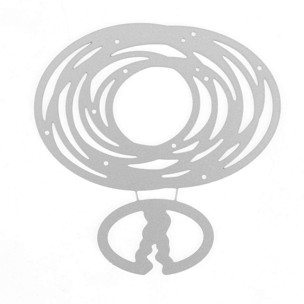 Scrapbooking Dies Decoupe Anniversaire Boite Style 1 Demiawaking La Cabina Die de Decoupe Scrapbooking D/écoupage en M/étal Meurt Pochoirs pour Album Photo Bricolage Saint Valentin
