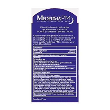 Mederma PM Intensive Overnight Scar Cream, 1 oz - Buy Packs and SAVE (Pack of 2)