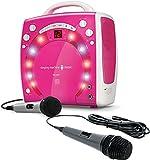 Bundle Includes 2 Items - Singing Machine SML-283P CDG Karaoke Player and Singing