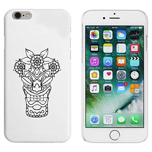 Weiß 'Tiki Kopf' Hülle für iPhone 6 u. 6s (MC00044818)