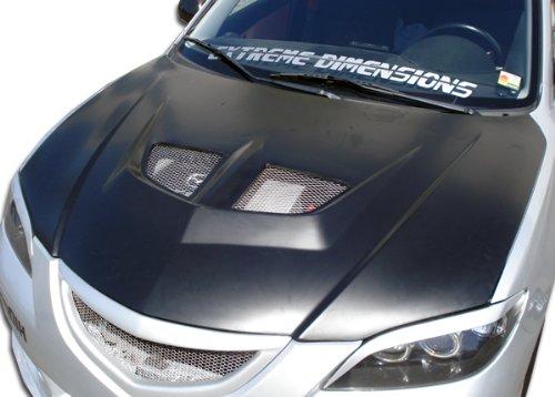 2004-2009 Mazda 3 4DR Duraflex Evo Hood - 1 Piece -