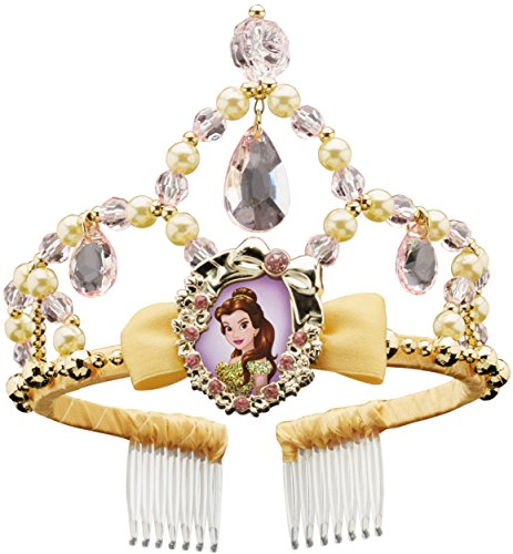 [Disguise Belle Classic Disney Princess Beauty & The Beast Tiara, One Size Child, One Color] (Beauty And The Beast Costume Belle)