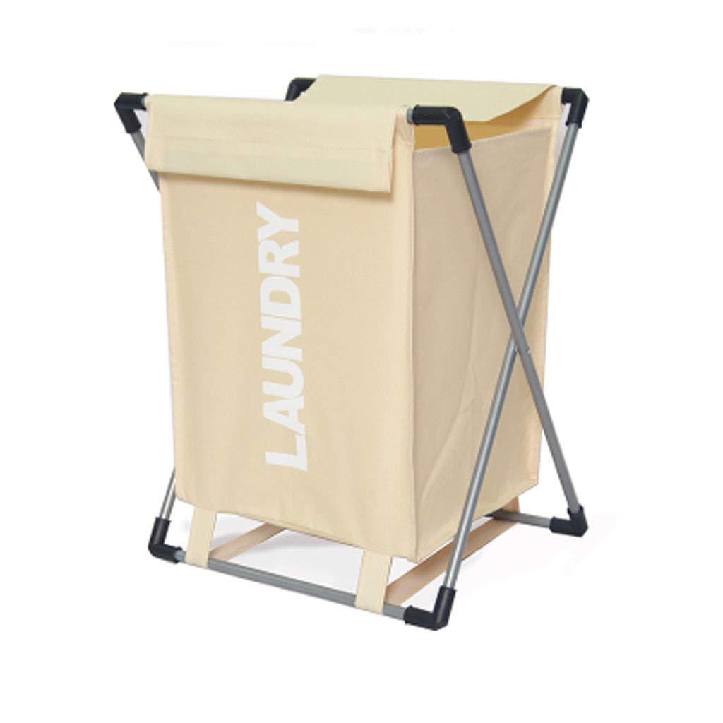 Laundry Basket | Large Capacity ┃ Folding Design (Color : Creamy-White)
