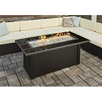 Amazon Com Outdoor Great Room Montego Crystal Fire Pit