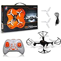 Myric HX 750 Drone Quadcopter 360 Degree Movable Stunt Drone Without Camera for Kids (Black)