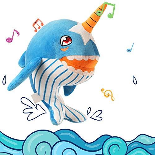 (Shark Baby Singing Plush,Stuffed Animal Toys for Kids Toddler 11
