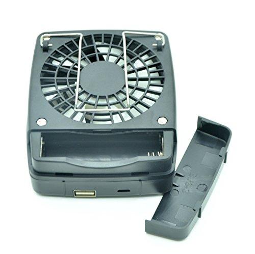 Portable Body Fans : Portable fan waycom mini usb personal power bank