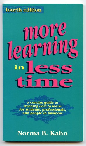 More Learning in Less Time