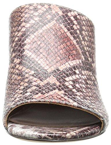 Pliner Rose Multi Donald Snake 71 Ellis Leather Print Women's Mule J 5YqYwf1