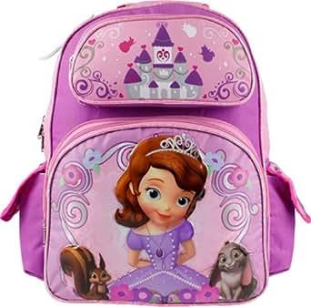 Backpack - Disney - Sofia the First - Little Princess (Large School Bag)