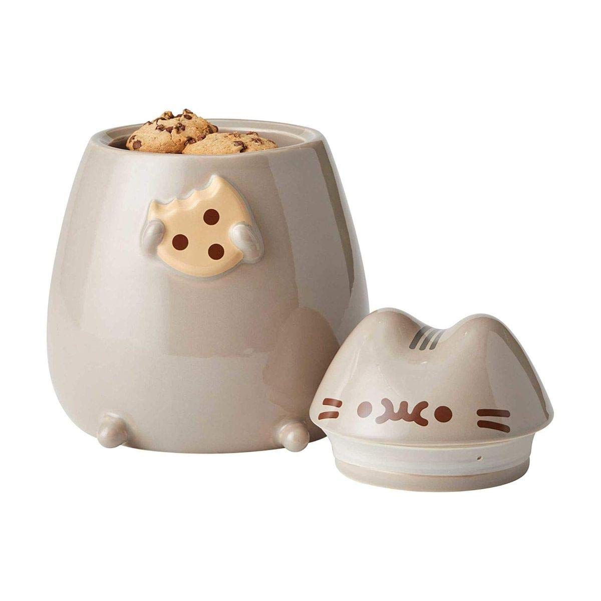 Enesco 6002674 Pusheen by Our Name is Mud Sculpted Cookie Jar 8 Gray