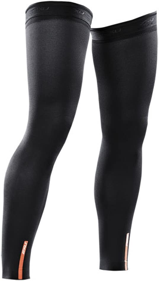 Black SS17 2XU Compression Leg Sleeves