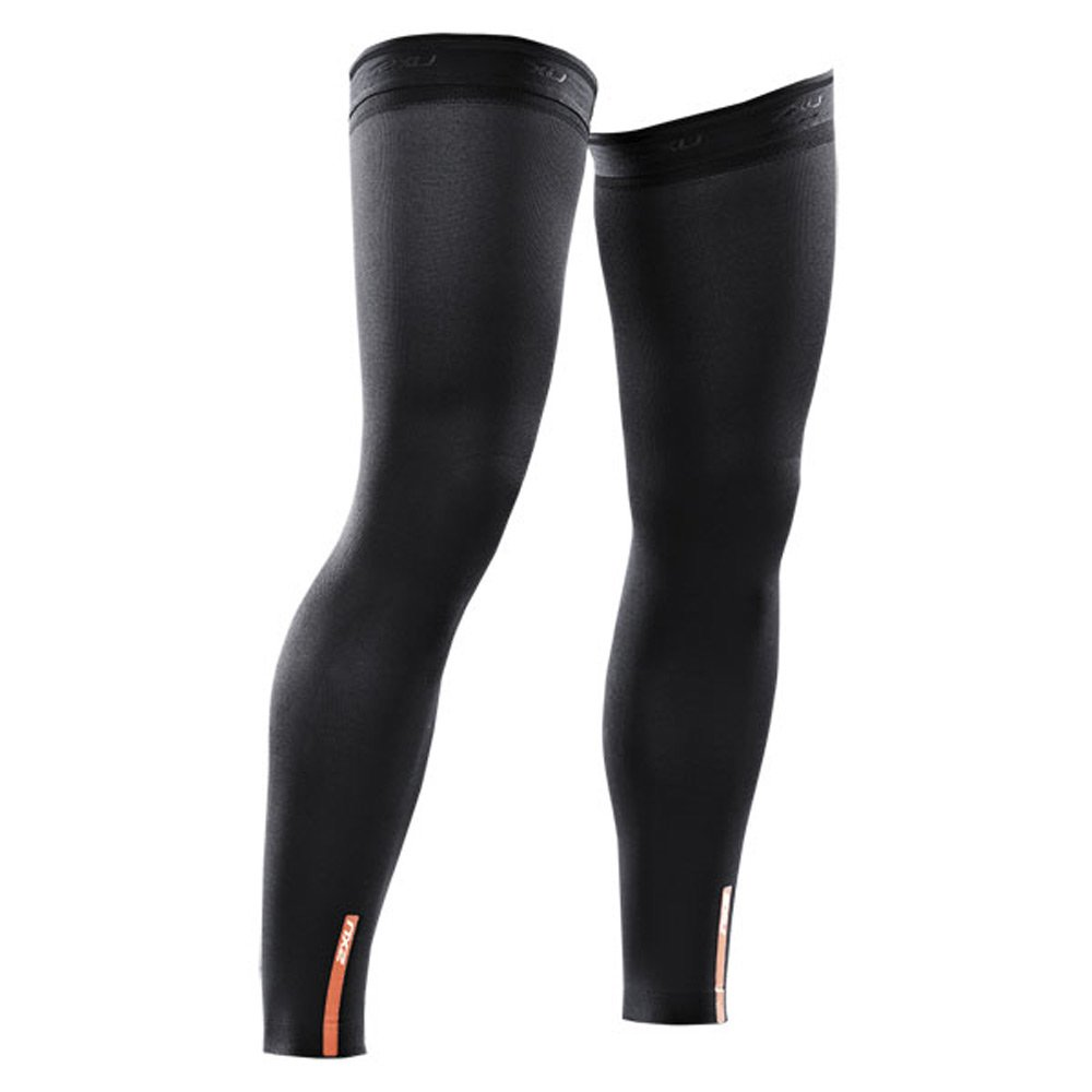 2XU Recovery Compression Leg Sleeves (Black, X-Small)