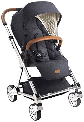 Mamas & Papas 2017 Urbo² Stroller - Blue Denim by Mamas & Papas