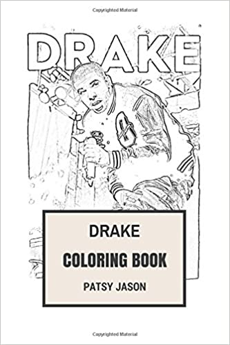 drake coloring book talented rapper and songwriter lil waynes protege and hip hop clairvoyant drake inspired adult coloring book drake books patsy - Drake Coloring Book