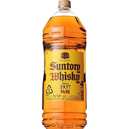 サントリー ウイスキー 角瓶 4000mlの商品画像