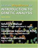 img - for Introduction to Genetic Analysis Solutions MegaManual & Interactive Genetics CD-ROM by William Fixsen (2004-05-28) book / textbook / text book
