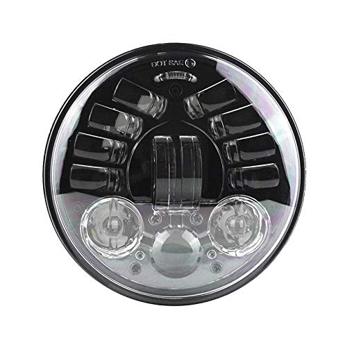 Eagle Lights 5.75 inch 8900AH-B LED Headlight with Integrated Turn Signals for Harley -