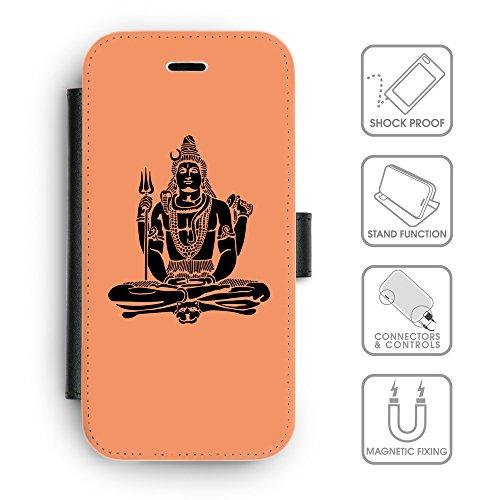 Flip PU Leather Wallet Case avec des fentes de carte de crédit // Q08100607 Hindou 1 Mandarine // apple iPhone 6s 2015