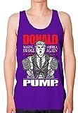 Bro Science Men's Donald Pump Tank-top