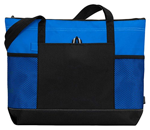 Gemline Select Zippered Tote(1100)-ROYAL BLUE-OS
